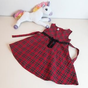 Bonnie Jean Red Plaid Dress